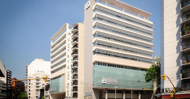 Edificio Clinica Finochieto, para estudio LYASA, CABA.